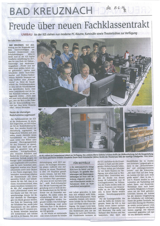Allgemeine Zeitung 15.06.2016 mini