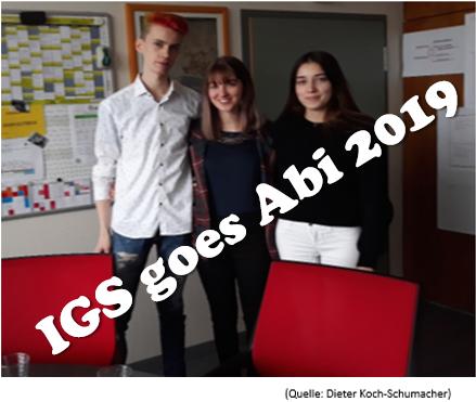 IGS goes Abi 2019