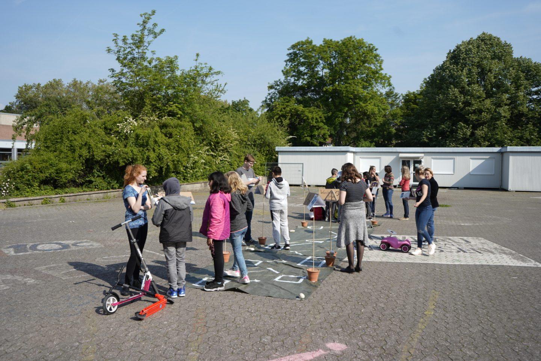 Europa erleben – Europoly auf dem Schulhof